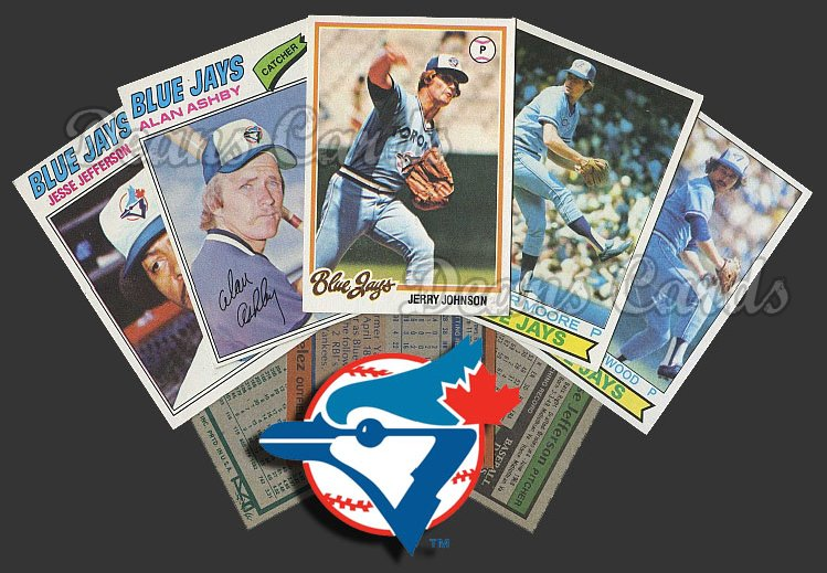 1977 Topps  -79  Toronto Blue Jays Team Starter Set / Lot - Sm